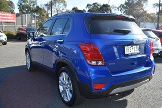 2016 Holden Trax TJ MY17 LTZ Blue 6 Speed Automatic Wagon.