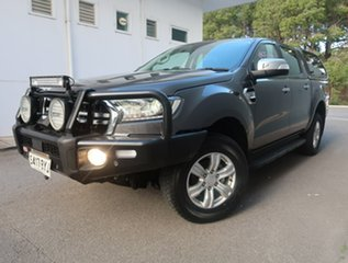 2018 Ford Ranger PX MkIII 2019.00MY XLT Grey 6 Speed Manual Utility.