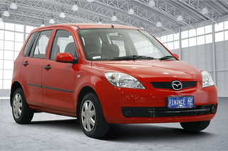2007 Mazda 2 DY10Y2 Genki Red 4 Speed Automatic Hatchback.