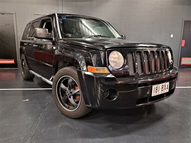 Used Jeep Patriot MK MY2007 Limited CVT Auto Stick Ashmore, 2008 Jeep Patriot MK MY2007 Limited CVT Auto Stick Black 6 Speed Constant Variable Wagon