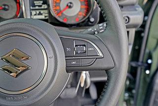 2021 Suzuki Jimny JB74 GLX Green 4 Speed Automatic Hardtop