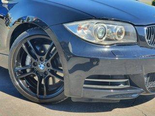 2009 BMW 1 Series E82 135i Steptronic Sport Black 6 Speed Sports Automatic Coupe