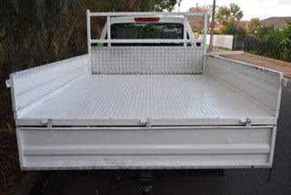 2007 Holden Rodeo RA MY07 LX White 5 Speed Manual Cab Chassis