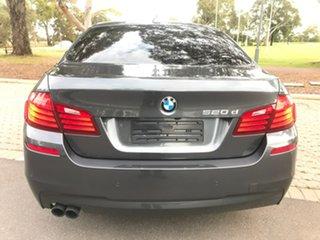 2016 BMW 5 Series F10 LCI 520d Steptronic M Sport Grey 8 Speed Sports Automatic Sedan