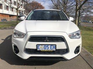 2014 Mitsubishi ASX XB MY15 LS 2WD White 5 Speed Manual Wagon
