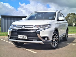 2017 Mitsubishi Outlander ZK MY17 Exceed 4WD White 6 Speed Sports Automatic Wagon