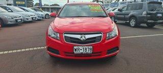 2010 Holden Cruze JG CD Red 6 Speed Sports Automatic Sedan.
