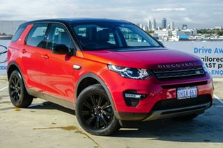 2015 Land Rover Discovery Sport L550 15MY SE Red 9 Speed Sports Automatic Wagon.