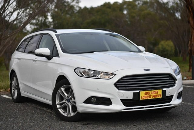 Used Ford Mondeo MD 2017.00MY Ambiente Morphett Vale, 2017 Ford Mondeo MD 2017.00MY Ambiente White 6 Speed Sports Automatic Dual Clutch Wagon