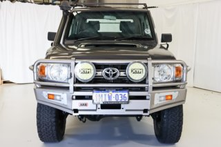2014 Toyota Landcruiser VDJ79R MY13 GXL Double Cab Grey 5 Speed Manual Cab Chassis