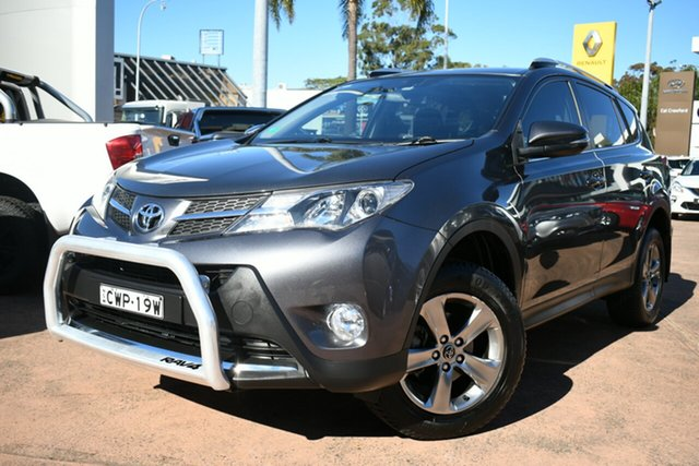 Used Toyota RAV4 ZSA42R MY14 Upgrade GXL (2WD) Brookvale, 2014 Toyota RAV4 ZSA42R MY14 Upgrade GXL (2WD) Grey Continuous Variable Wagon