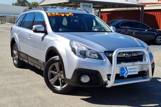 2014 Subaru Outback B5A MY14 2.5i Lineartronic AWD Premium Silver 6 Speed Constant Variable Wagon.
