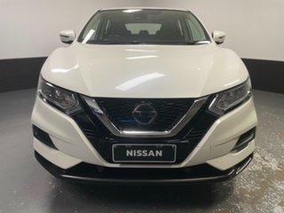 2018 Nissan Qashqai J11 Series 2 ST X-tronic White 1 Speed Constant Variable Wagon.