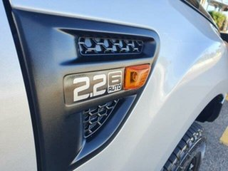 2015 Ford Ranger PX XL Hi-Rider Silver 6 Speed Sports Automatic Utility