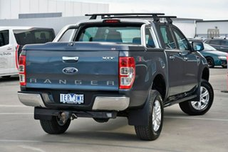 2015 Ford Ranger PX MkII XLT Double Cab Silver 6 Speed Manual Utility