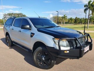2015 Ford Ranger PX XL Hi-Rider Silver 6 Speed Sports Automatic Utility.