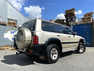 2000 Nissan Patrol GU II ST Gold 4 Speed Automatic Wagon.