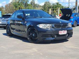 2009 BMW 1 Series E82 135i Steptronic Sport Black 6 Speed Sports Automatic Coupe.
