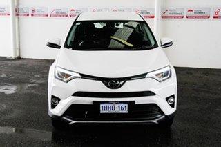 2018 Toyota RAV4 ASA44R MY18 GX (4x4) Glacier White 6 Speed Automatic Wagon.
