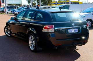2009 Holden Commodore VE MY10 SV6 Sportwagon Black 6 Speed Sports Automatic Wagon.