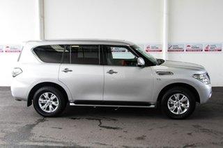 2017 Nissan Patrol Y62 Series 3 TI Silver 7 Speed Sports Automatic Wagon