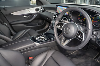 2021 Mercedes-Benz C-Class W205 801MY C200 9G-Tronic Polar White 9 Speed Sports Automatic Sedan.
