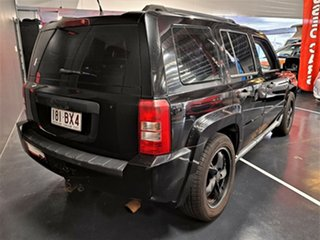 2008 Jeep Patriot MK MY2007 Limited CVT Auto Stick Black 6 Speed Constant Variable Wagon.