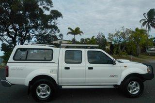 2013 Nissan Navara D22 S5 ST-R White 5 Speed Manual Utility.