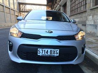 2018 Kia Rio YB MY18 S Silky Silver 4 Speed Sports Automatic Hatchback.