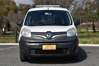 2014 Renault Kangoo F61 Phase II White 5 Speed Manual Van.
