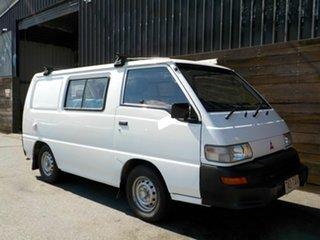 2013 Mitsubishi Express SJ MY12 SWB White 5 Speed Manual Van.