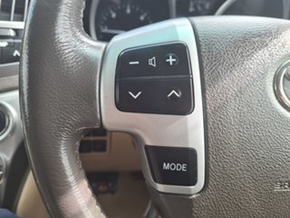 2013 Toyota Landcruiser VDJ200R MY12 Sahara White 6 Speed Sports Automatic Wagon