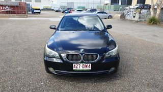 2007 BMW 525i E60 MY07 Black 6 Speed Auto Steptronic Sedan
