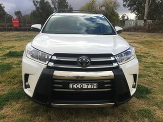 2019 Toyota Kluger GSU50R Grande White Sports Automatic.