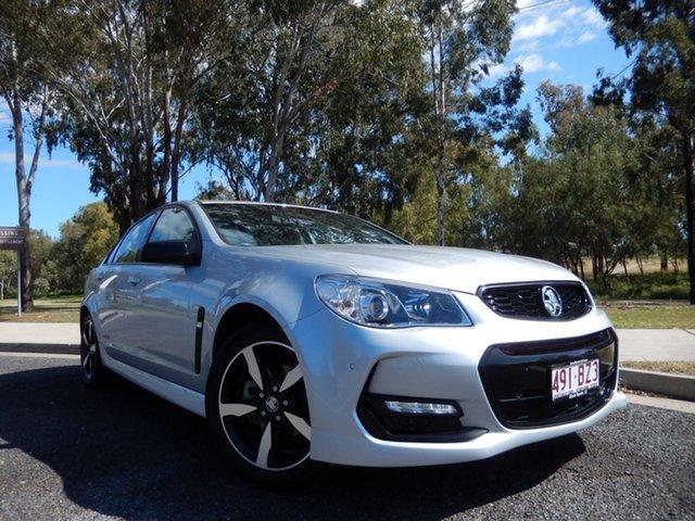 Pre-Owned Holden Commodore Vfii MY16 SV6 Black Edition Dalby, 2016 Holden Commodore Vfii MY16 SV6 Black Edition Crystal Pearl 6 Speed Manual Sedan