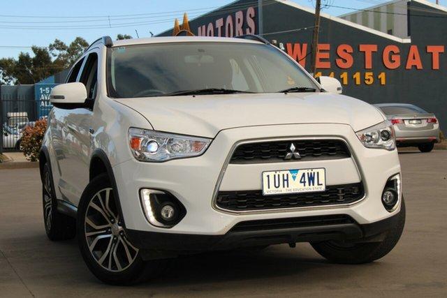 Used Mitsubishi ASX XC MY17 LS (2WD) West Footscray, 2016 Mitsubishi ASX XC MY17 LS (2WD) White Continuous Variable Wagon