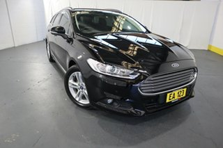 2016 Ford Mondeo MD Ambiente TDCi Black 6 Speed Automatic Wagon.