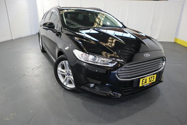 Used Ford Mondeo MD Ambiente TDCi Castle Hill, 2016 Ford Mondeo MD Ambiente TDCi Black 6 Speed Automatic Wagon