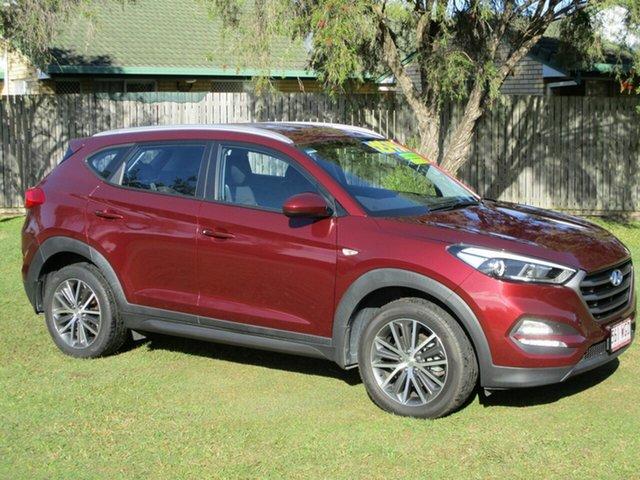 Used Hyundai Tucson TL Active X 2WD Kippa-Ring, 2015 Hyundai Tucson TL Active X 2WD Maroon 6 Speed Sports Automatic Wagon