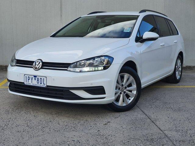 Used Volkswagen Golf 7.5 MY19.5 110TSI DSG Trendline Oakleigh, 2019 Volkswagen Golf 7.5 MY19.5 110TSI DSG Trendline White 7 Speed Sports Automatic Dual Clutch