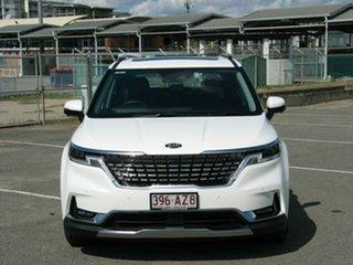 2021 Kia Carnival KA4 MY21 Platinum White 8 Speed Automatic Wagon.