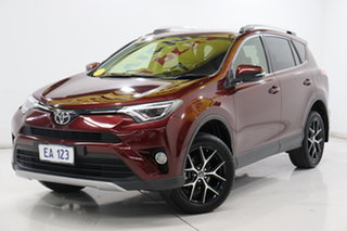 2016 Toyota RAV4 ZSA42R MY16 GXL (2WD) Red Continuous Variable Wagon.