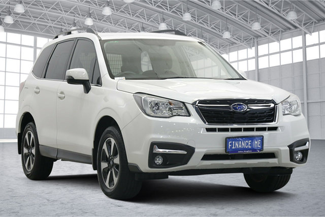 Used Subaru Forester S4 MY17 2.5i-L CVT AWD Victoria Park, 2017 Subaru Forester S4 MY17 2.5i-L CVT AWD Pearl White 6 Speed Constant Variable Wagon