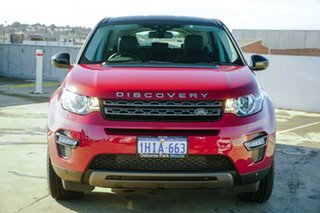 2015 Land Rover Discovery Sport L550 15MY SE Red 9 Speed Sports Automatic Wagon