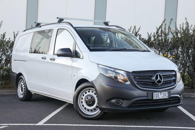 Certified Pre-Owned Mercedes-Benz Vito 447 119BlueTEC Crew Cab MWB 7G-Tronic + Mulgrave, 2017 Mercedes-Benz Vito 447 119BlueTEC Crew Cab MWB 7G-Tronic + Arctic White 7 Speed