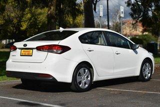 2017 Kia Cerato YD MY17 S White 6 Speed Sports Automatic Sedan