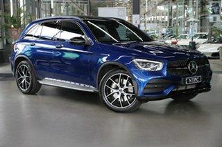 2019 Mercedes-Benz GLC-Class X253 800MY GLC300 9G-Tronic 4MATIC Blue 9 Speed Sports Automatic Wagon.