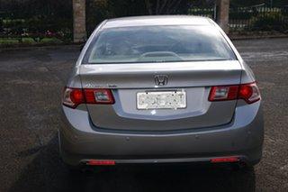 2008 Honda Accord 10 Euro Luxury Silver 5 Speed Automatic Sedan.