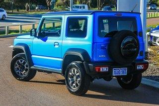2019 Suzuki Jimny JB74 Blue 4 Speed Automatic Hardtop.