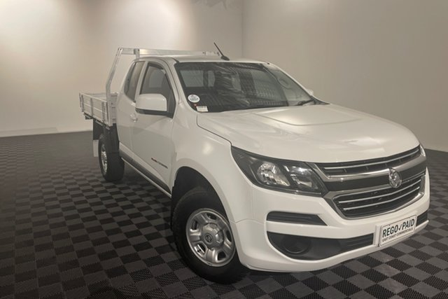 Used Holden Colorado RG MY16 LS Space Cab Acacia Ridge, 2016 Holden Colorado RG MY16 LS Space Cab White 6 speed Automatic Cab Chassis